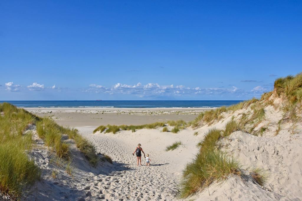De uitgestrekte stranden van Terschelling